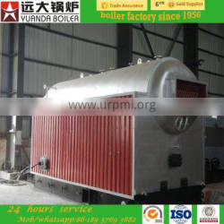 Textile factory use steam boiler coal fired