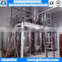 1000l turnkey brewery system,whole set beer brewing equipment