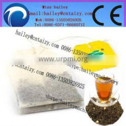 professional and popular triangle tea packing machine