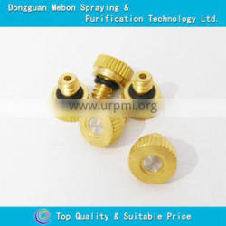 Small size low pressure brass nozzle,misting system fog nozzles