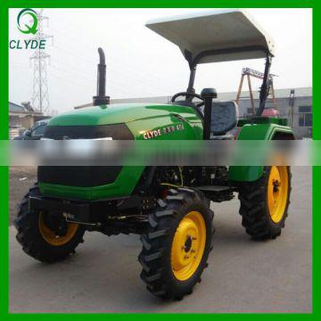 CE certificate 404 farm traktor with front loader and backhoe
