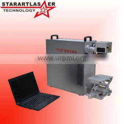 Portable 10W Fiber Laser Marking Machine China Machine