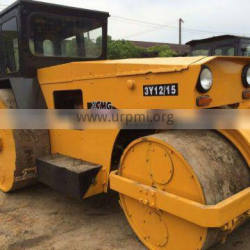 Used road roller Chinese road roller XCMG 3 Y 1215 with double drums