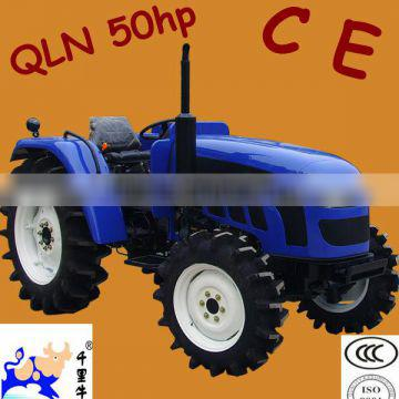 with ce certification QLN 50hp 4wd farm agri tractor