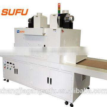 China Supplier SUFU Automatic Solvent Ink UV Curing Machine