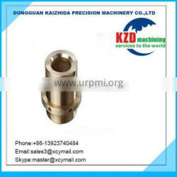 Customized CNC Lathe Parts of Fitting with Brass