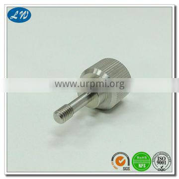 China OEM high precision cnc stainless steel turning parts with knurling