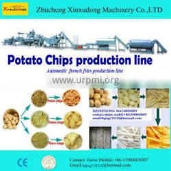 French fries&potato chips frying production line