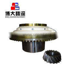 Mining metso GP220 GP550 drive gear pair suit for metso Nordberg cone crusher spare parts