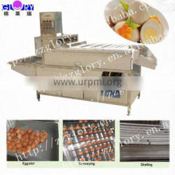 8000-15000pcs/h Boiled Chicken Egg Shelling Machine