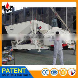 MC1200 New small concrete batching plant for export