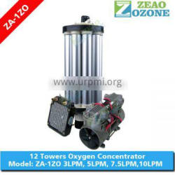 93% purity 10LPM 12 towers oxygen concentrator spare parts