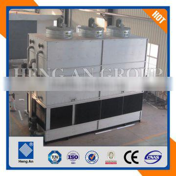 stainless steel coil type ammonia condenser for compressor