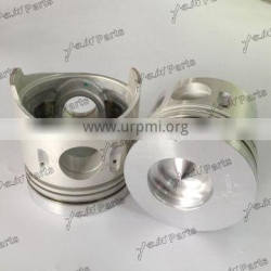 4D32 Piston Kit With Pin Cir-Clip For Excavator Diesel Engine Spare Parts