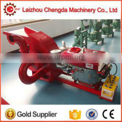 High quality 22hp diesel engine powered wood hammer mill crusher