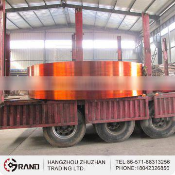 China high quality large size ring rolled forgings