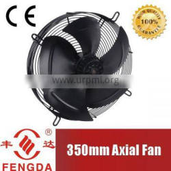 350mm electric cooling fan motor with external rotor