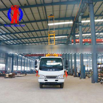 XYC-200 vehicle-mounted hydraulic core drilling rig 200 meter exploration drilling machine
