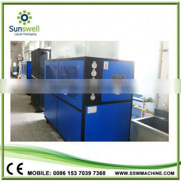 China manufacturing package type scroll water chiller with Copeland compressor
