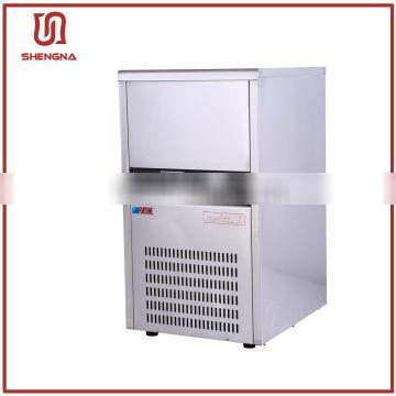 Stainless steel industrial block cube ice machines