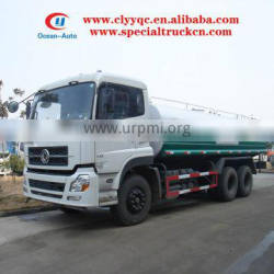 Dongfeng Kinland 6X4 water sprinkler 25000liters water tank truck for sale