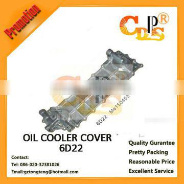 Mitsubishi 6D22 oil cooler cover for engine