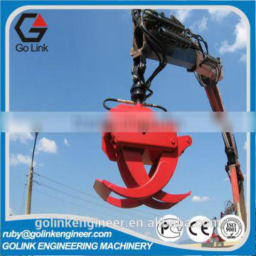 widely used high quality cheap price china trade assurance supplier hydraulic excavator grapple attachments