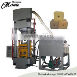 Animal salt mineral licking block press machine for round shape