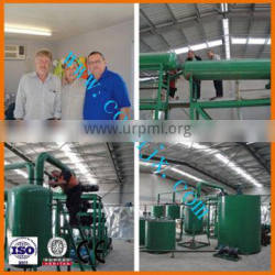 Oil Distillation with Vacuum Filtration System Manufacturing Machine for Waste Oil Recycle