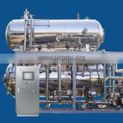 Customized water immersed unit sterilization retort for canned food