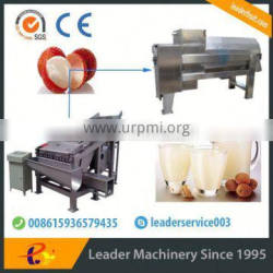 Leader stainless steel longan fruit process machinery with CE & ISO