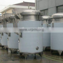 stainless steel vacuum extraction tank