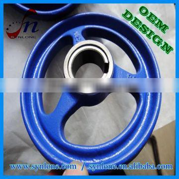 2017 customized sand casting gate valve hand wheel