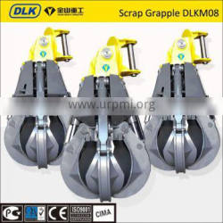 four ropes double girder rope grab bucket overhead crane