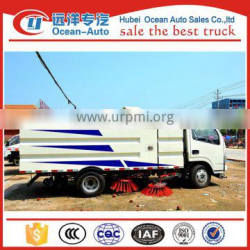 Good quality new mini street sweeper with famous dfac brand