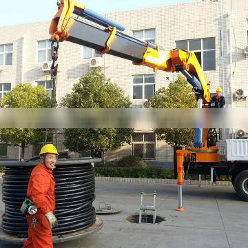25ton truck mounted crane SQ500ZB4 on sale