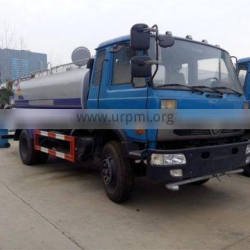 New Dongfeng 10 CBM Stainless Steel Water Bowser Truck