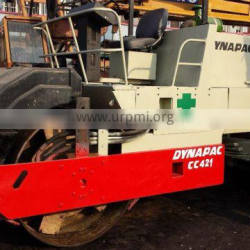 used road roller Dynapac CC 421, double drum road roller