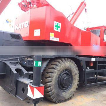 used rough terrain crane original japan kato ss500