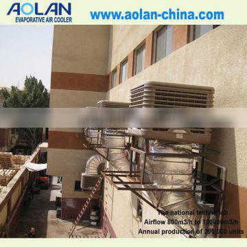 ventilation grilles evaporative air cooler water pump