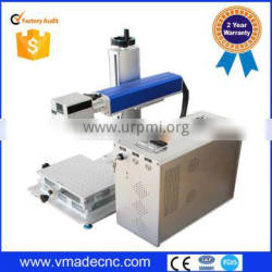 high quality china Racus laser engraving small jewellery fiber metal laser marking machine 10W 20W 30W