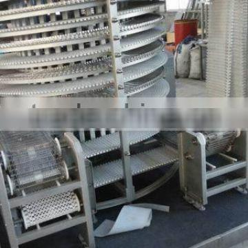 single spiral freezer in industrial freezer china made low noise export to EU MALAYSIA IRAN TURKEY NIGERIA
