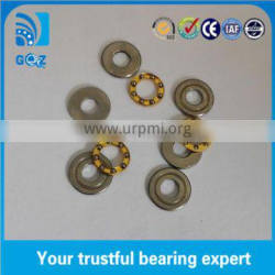 F2.5-6M Miniature Thrust Ball bearing 2.5x6x3mm