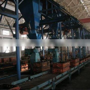 Reduce labour Power foundry furan resin sand molding and casting machinery(CE, ISO)