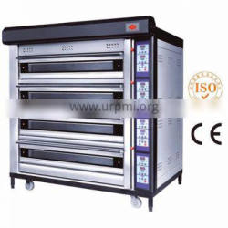 Luxurious 3 deck 12 trays electric commercial oven for bread