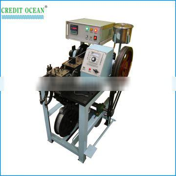 semi-automatic plastic tipping machine for shoelace
