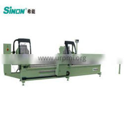 Digital Measuring Two Head Cutting Saw For Aluminum Profiles