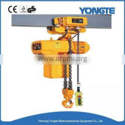 light duty materials electric chain hoist with trolley