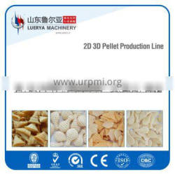 Dry or Fried puffing Food machinery with 20years