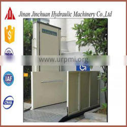 disabled wheelchair lift elevator/lift with no obstacle